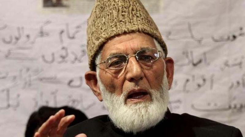 Kashmiri separatist leader Syed Ali Shah Geelani. (Photo: AP)
