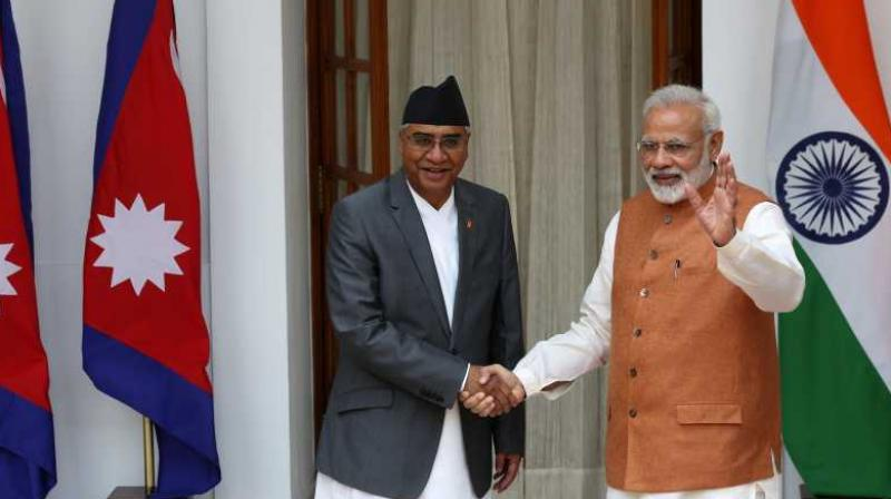New Delhi proposed the construction of new railway links during Prime Minister K P Sharma Oli's recent visit to India. (Photo: PTI)