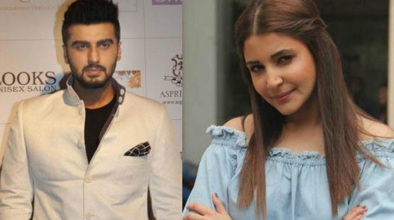 Arjun Kapoor and Anushka Sharma.