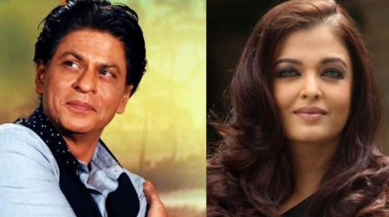 Shah Rukh Khan and Aishwarya Rai Bachchan.