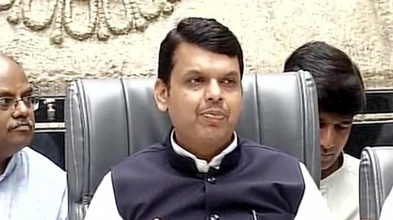 Maharashtra Chief Minister Devendra Fadnavis (Photo: Twitter | ANI)
