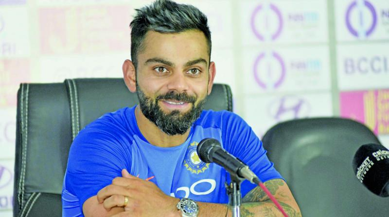 Kohli banished his own English demons last year when he comfortably finished as the leading scorer in the test series. (Photo: File)