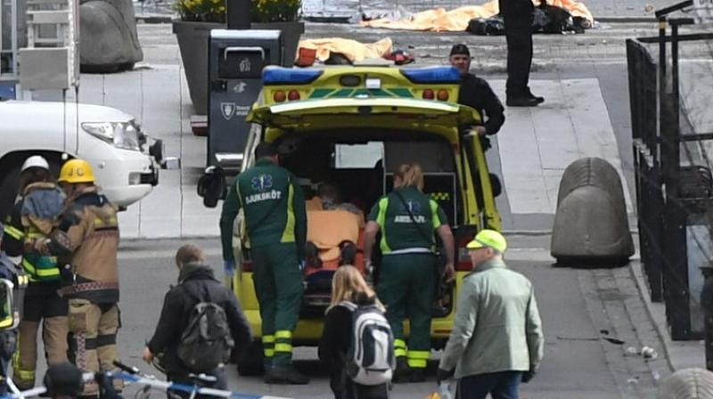Police have arrested one suspect in the truck attack but would not say if they are hunting for any others. (Photo: AFP)