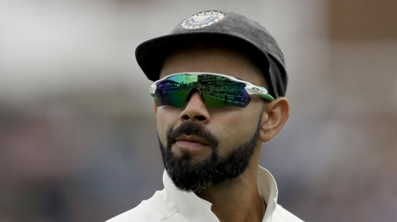 rat Kohli was on Wednesday embroiled in a controversy when a fan termed him an 'over-rated batsman' comparing him to England and Australia cricketers. (Photo: AP)