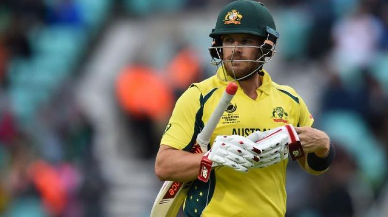 Disarray within Cricket Australia has distracted the Australian team, one-day skipper Aaron Finch said Thursday as he urged his players to keep their focus on the field. (Photo: AFP)