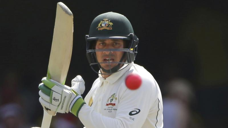 The first Test begins on December 6 and Khawaja would be eager to achieve his fitness to play in Queensland's Sheffield Shield match with Victoria in Brisbane from November 27 to spend some time in the middle. (Photo: AP)