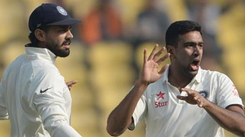 Tamil Nadu will be without the services of ace spinner R Ashwin, Test opener Murali Vijay and all-rounder Vijay Shankar for the upcoming Ranji Trophy game against Hyderabad at Tirunelveli from November 12 to 15. (Photo: AFP)