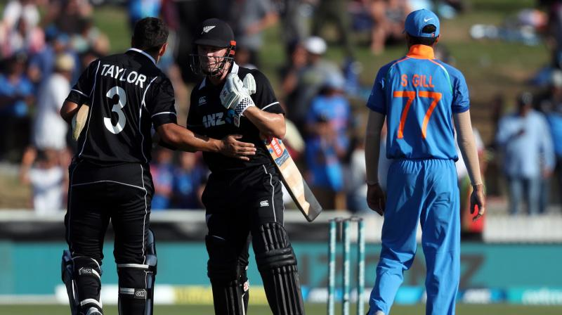 After outplaying New Zealand in the first three ODIs to clinch the series, India suffered the same fate as the hosts after suffering a huge defeat. (Photo: AFP)
