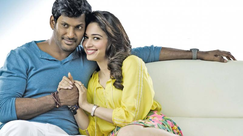 Vishal and Tamannah