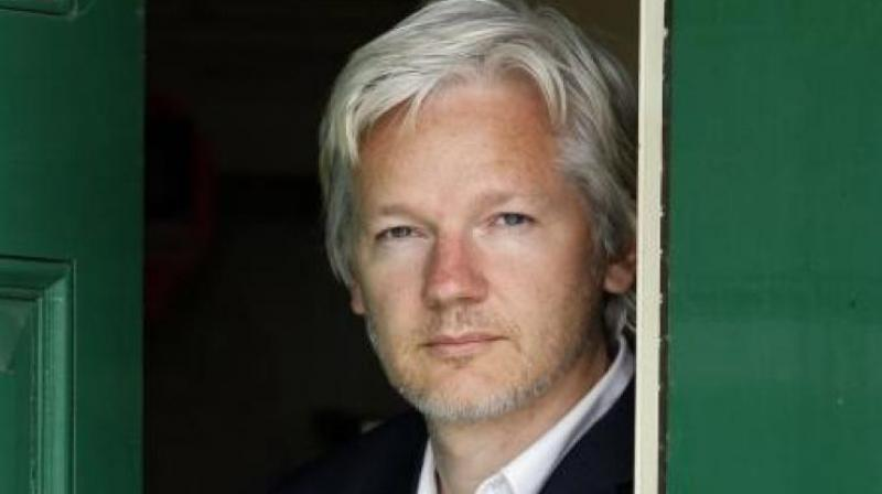 The WikiLeaks founder is in custody in London awaiting sentencing for breaching his British bail conditions in 2012 by seeking refuge in the Ecuadoran embassy to avoid extradition to Sweden. (Photo: AP | File)