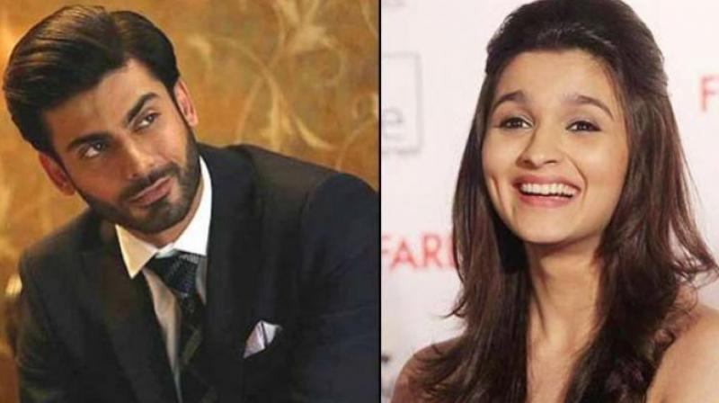 There was a kiss in the film with Fawad. When we did the scene, it was decided that we would cheat-kiss. Still, every time I would go near his face, he would flinch: Alia Bhatt