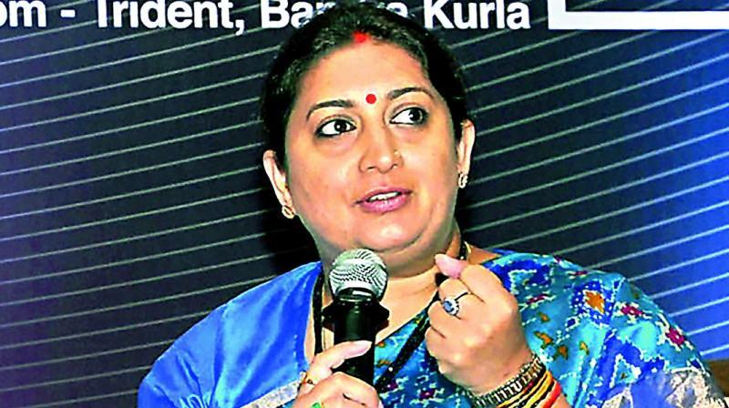 Priyanka Gandhi insulted Lal Bahadur Shastri: Smriti Irani
