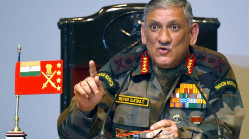 The Army chief informed the government about preparedness of his force when it was considering various options, including carrying out an aerial raid, to punish Pakistan for the Pulwama terror attack. (Photo: PTI)