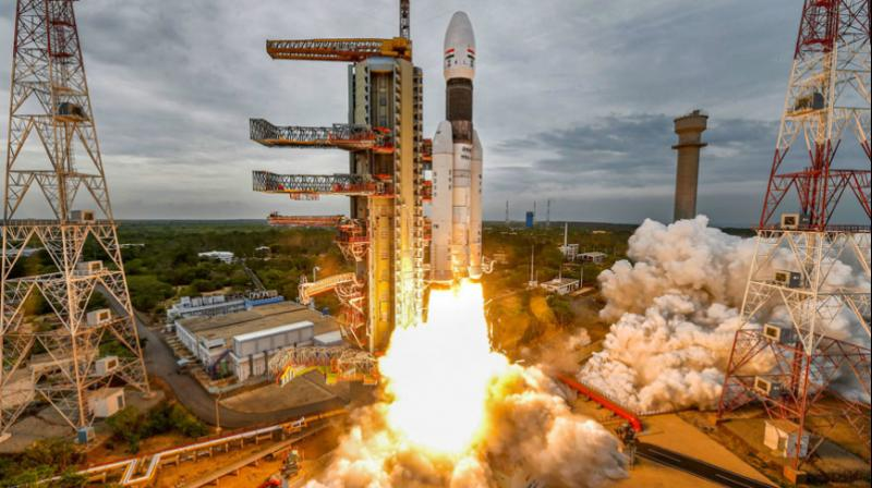 The lander lost communication with ground stations during its final descent. ISRO officials said, adding that the orbiter of Chandrayaan-2 — second lunar mission — remains healthy and safe. (Photo: File)