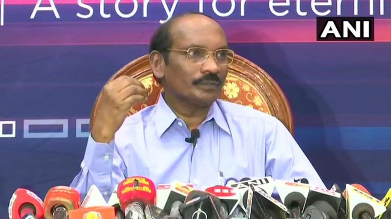 'For 30 minutes, our heart was almost stopping,' he said after the Lunar Orbit Insertion (LOI) manoeuvre was completed successfully at 09:02 am. (Photo: ANI | Twitter)