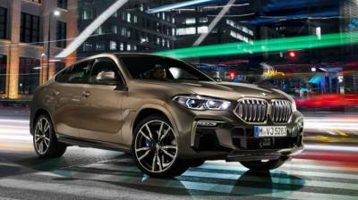 New X6 is longer, wider and has a longer wheelbase than the outgoing model.