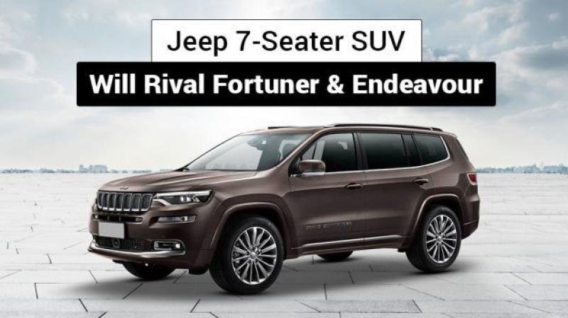 Jeep currently does not offer any models in this segment in India but it does have a 7-seater SUV of similar size in China known as the Grand Commander.