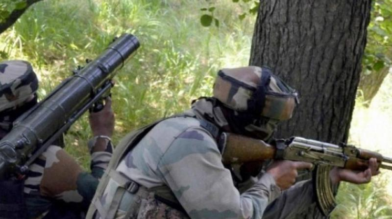 The Indian Army targeted the Hajira sector of PoK where 6 villages came under attack. (Photo: PTI/Representational)