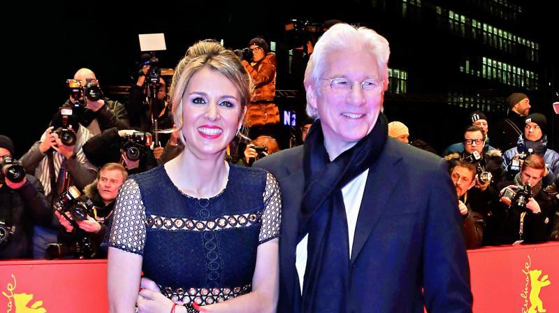 Richard Gere and Alejandra Silva