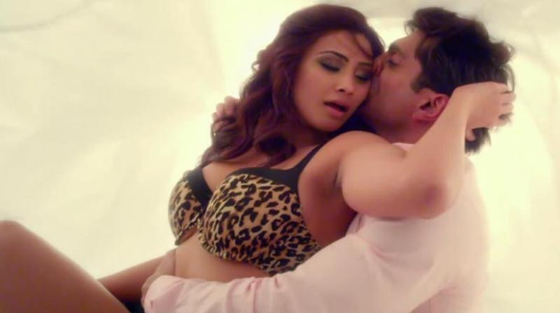 Daisy Shah in a still from 'Hate Story 3.'