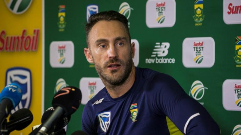 While 35-year-old Du Plessis is still the captain of the Test side, Nkwe gave enough indications that South Africa wants to infuse fresh blood going into next year's World T20 in Australia. (Photo: AFP)