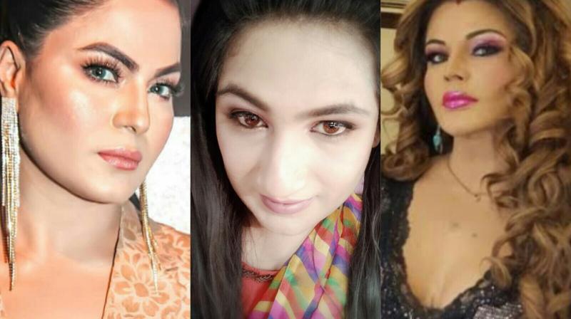 Mahika Sharma slams Veena Malik.