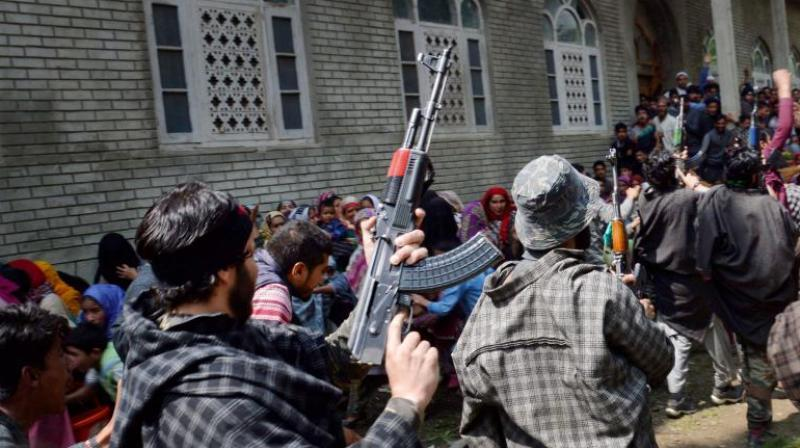 Around 80 militants have been killed in south Kashmir in the past six months. (Photo: PTI/Representational)