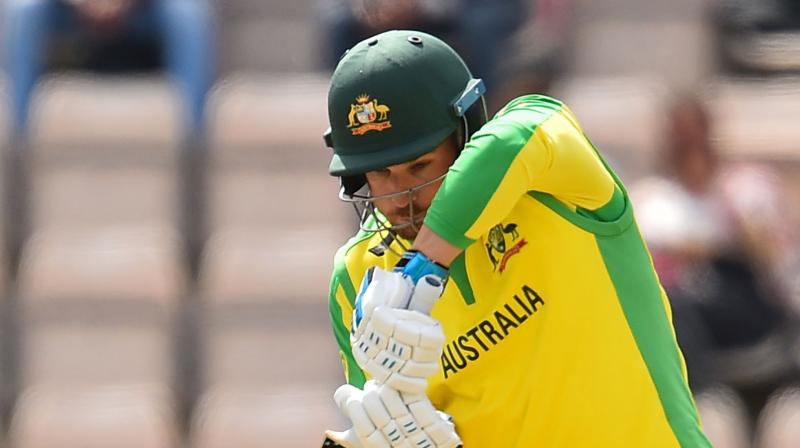 A concerned Warner sat beside the player and subsequently called off his net session. (Photo: AP)