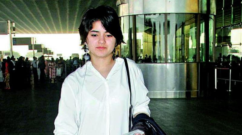 'Dangal' actor Zaira Wasim who was travelling in Delhi-Mumbai Air Vistara flight had narrated her ordeal on Instagram via live video. (Photo: File)