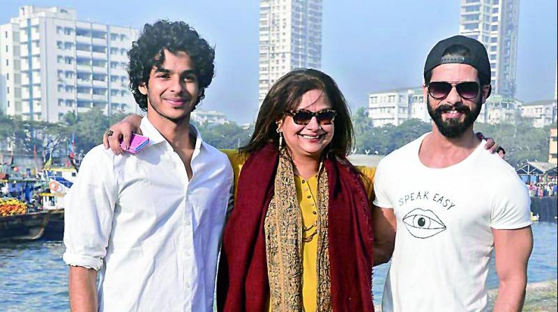A bigger moment for the former actress however, will be when both her sons share screen space.