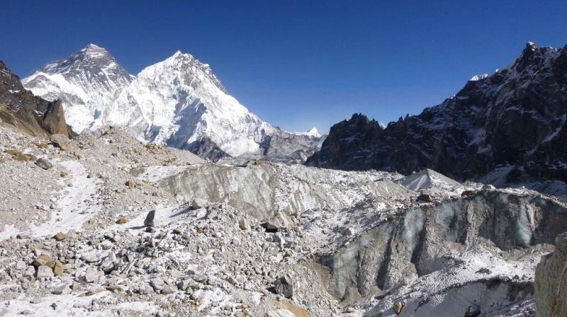 The study does not include the huge adjoining ranges of high-mountain Asia such as the Pamir, Hindu Kush or Tian Shan, but other studies suggest similar melting is underway there as well. (Photo: AP)