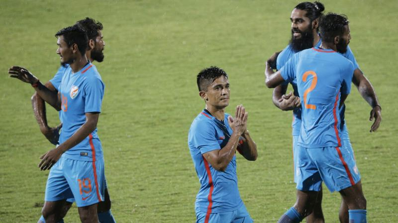 a1707dc5ca1 The 29-year-old Kohli took to Twitter to congratulate the Indian football  team
