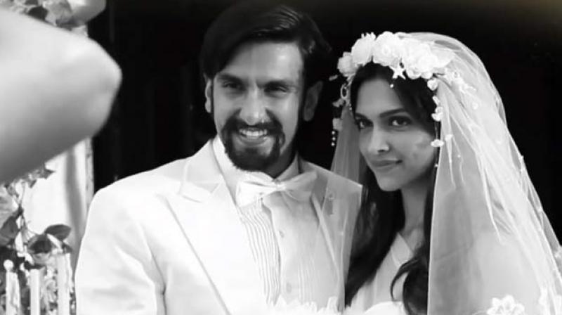 Ranveer Singh and Deepika Padukone in a still from 'Finding Fanny'.