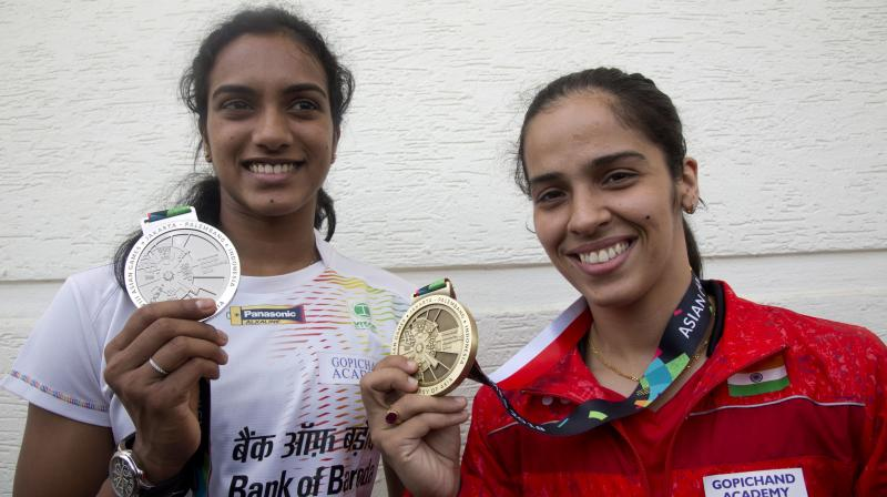 Saina, who will turn 29 in March, is currently the oldest player in the top ten and Vimal said it is important for the Indian to train smart to stay at the top of her game. (Photo: AP)