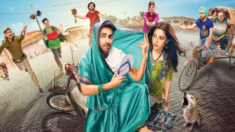 """Ayushmann Khurrana is one actor who probably doesn't believe in the conventional wisdom of playing the """"hero"""" in films to ensure a longer run in Bollywood."""
