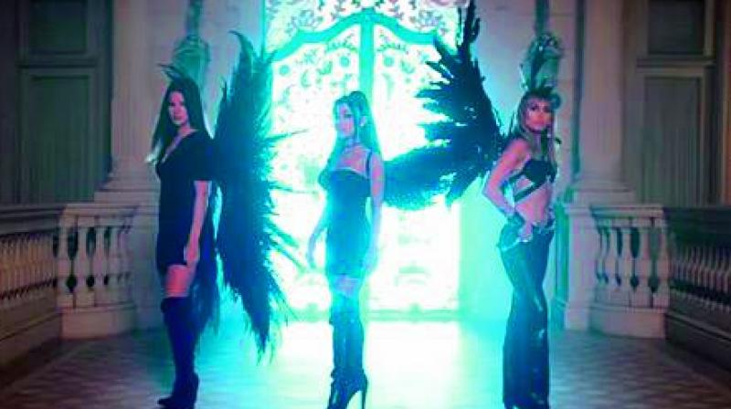 On September 13, Miley Cyrus, Ariana Grande and Lana Del Rey released their new collaboration, Don't Call Me Angel, for the upcoming Elizabeth-Banks film, Charlie's Angels and premiered the accompanying music video.