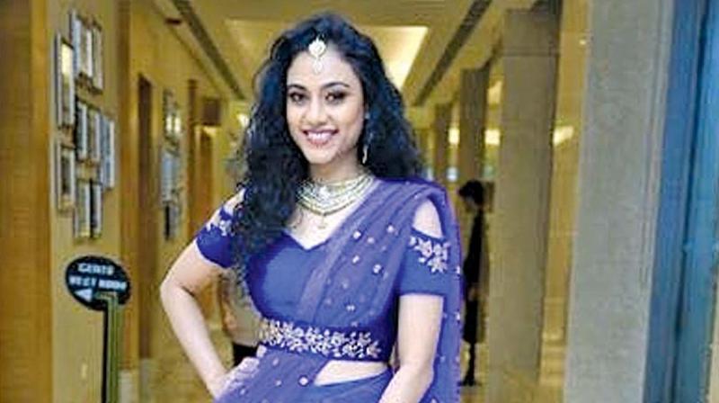 "Actress Rupa Manjari in Lavanya Shivshankar and Manik's ""Swa"" outfit"