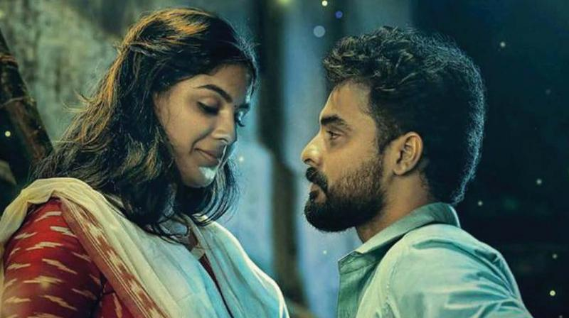 The movie, a political satire which has Tovino and Samyuktha Menon in the lead roles, was directed by debutant Felini T.P. and scripted by Vini Viswalal.