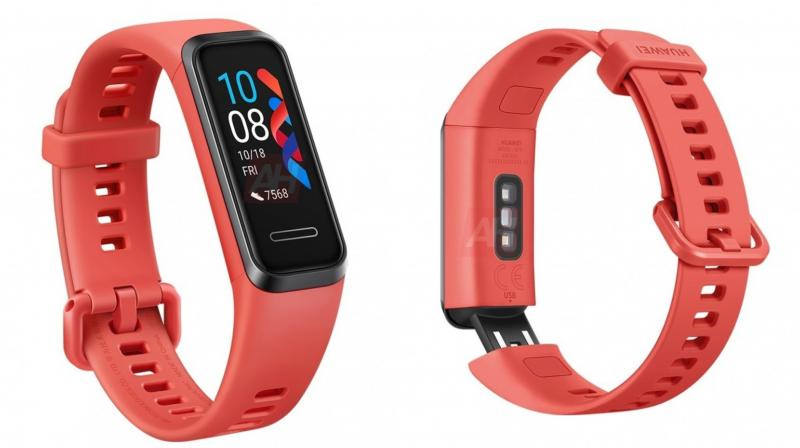 Leaked images of the tracker reveal a coloured screen (Likely AMOLED), a rectangular face and a USB connector on the band that will allow it to be plugged straight into PCs.