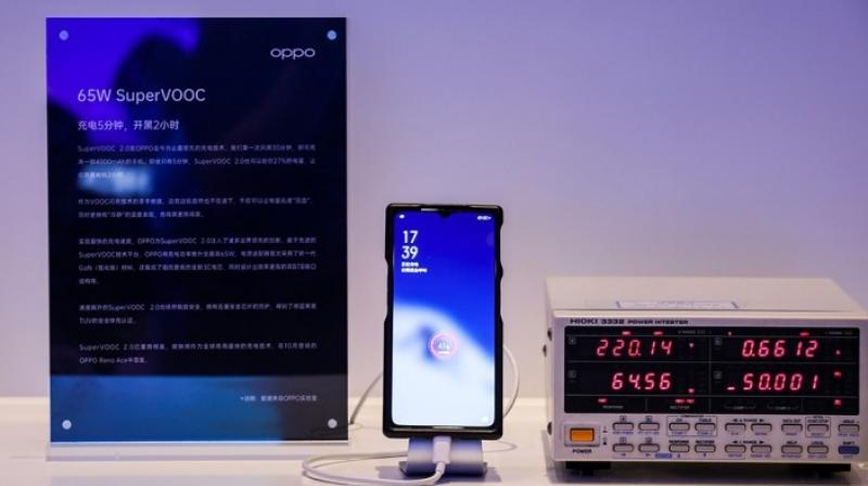 Called SuperVOOC Flash Charge 2.0, the tech is able to charge phones at a 65W capacity.