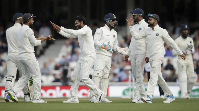 Virat Kohli and co did wonders in the final session to shift the momentum in their favour. (Photo: AP)