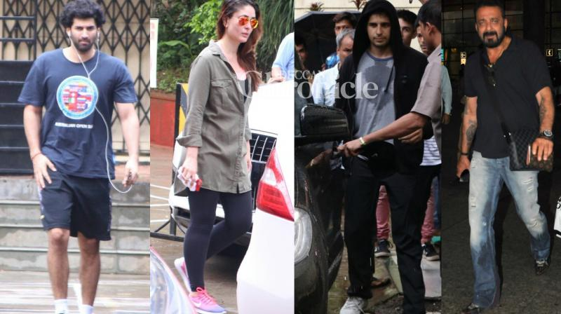 Fans got the opportunity to see their favourite Bollywood stars as they stepped out on Wednesday. (Photo: Viral Bhayani)