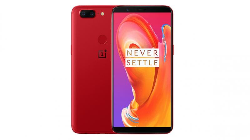 OnePlus 5T Lava Red edition which got launched recently