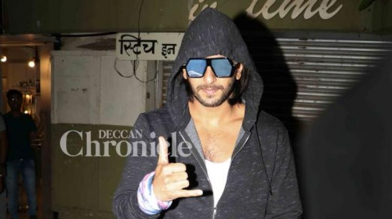 Ranveer Singh was last seen in Aditya Chopra's 'Befikre'.