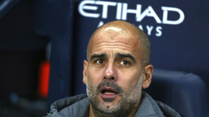 Guardiola is bidding to add a second Premier League title to go with the three he won in Germany and three in Spain with Bayern Munich and Barcelona. (Photo: AP)