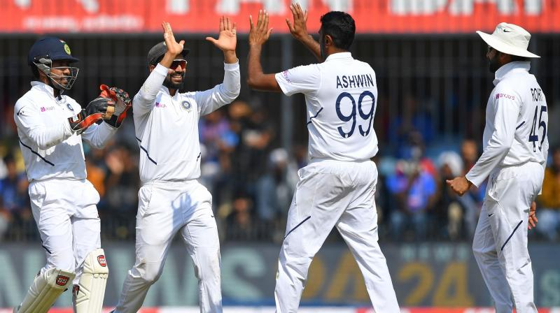 Ravichandran Ashwin feels Day/Night Tests will mark a new beginning for the traditional format in the country as the spectator count will improve drastically owing to the match timings. (Photo: AFP)