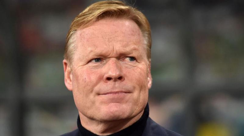The Netherlands boss Ronald Koeman admitted the possibility of joining Barcelona but 'only after Euro 2020'. (Photo:AFP)