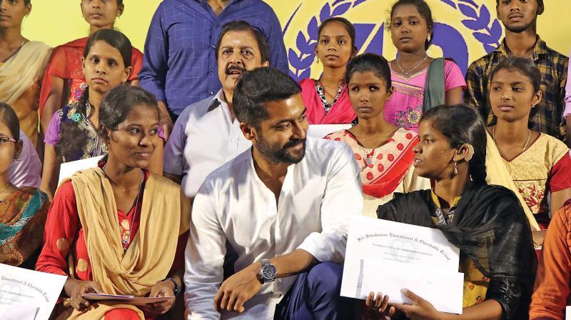 Actor Suriya raises concern over draft National Education Policy