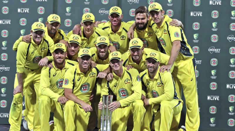 The champions had raised the bar in a superlative performance and India were second best. (Photo: AP)