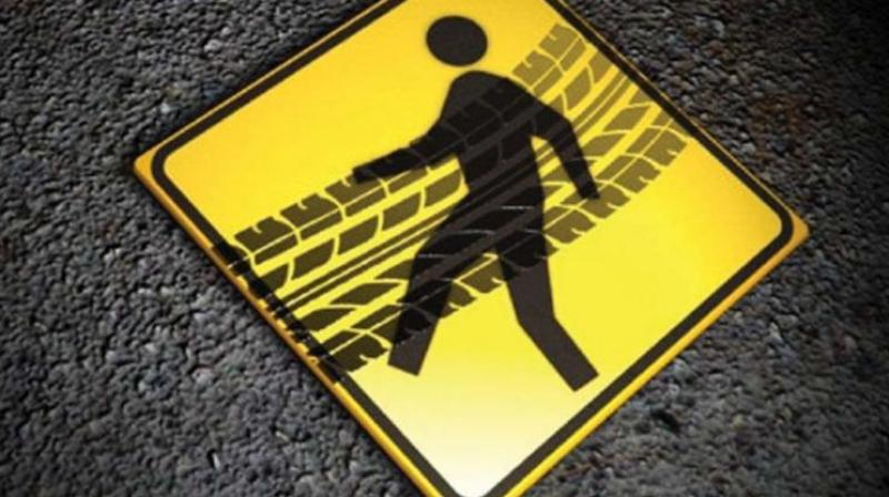 The rash driving of underaged drivers scares those out for a spot of exercise.  (Representational Image)